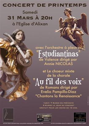 Affiche concert d'Alixan