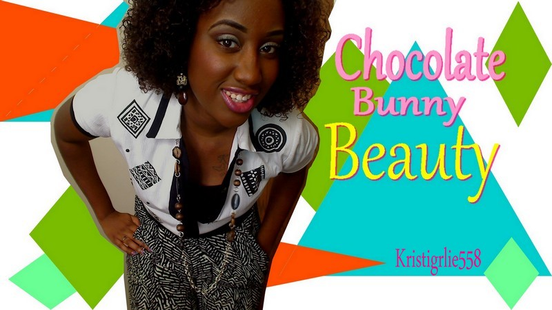 Chocolate Bunny Beauty