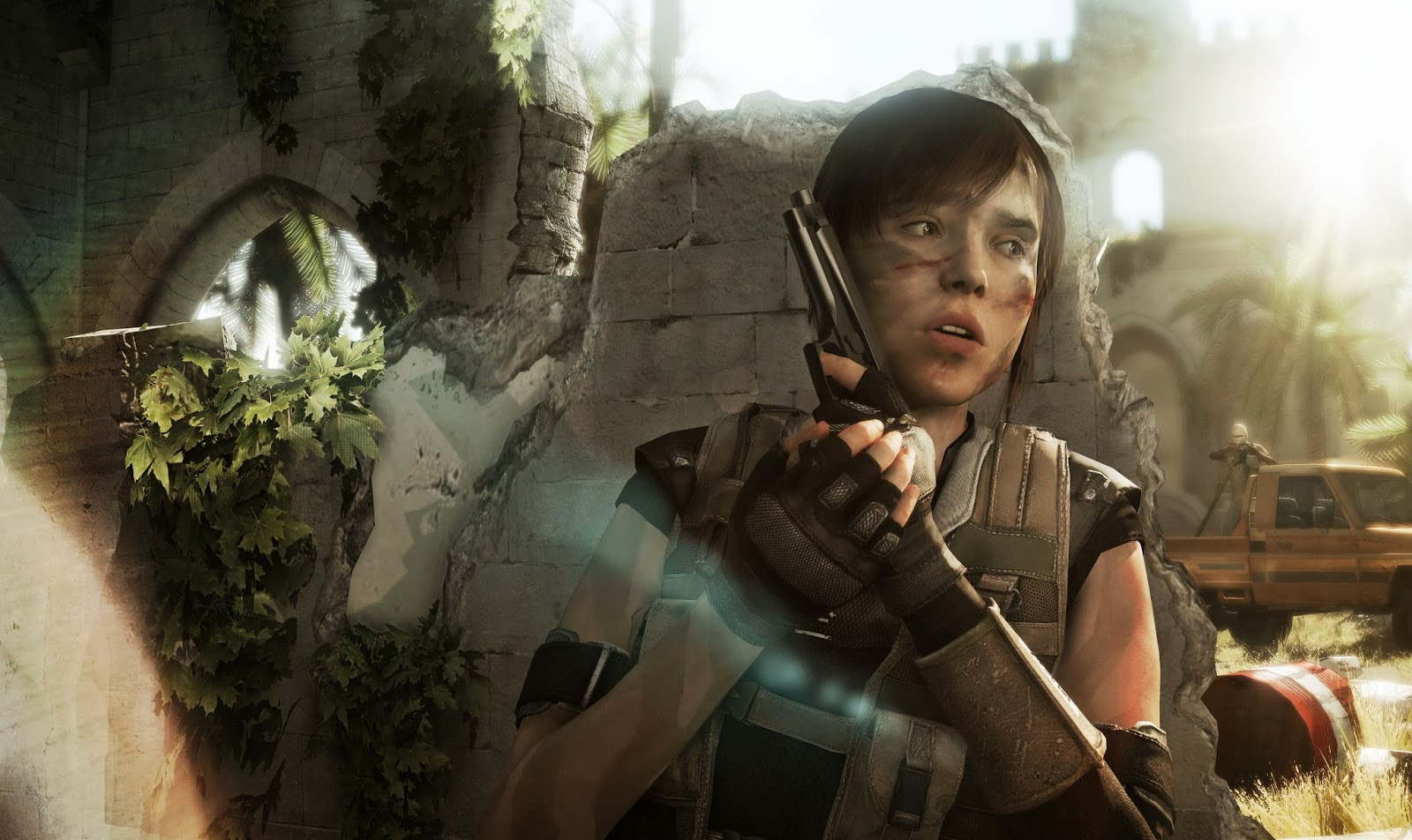 Beyond: Two Souls Jodie Executing Orders C.I.A Mission