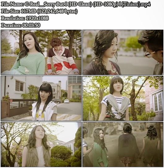 Download MV C-Real (씨리얼) - Sorry But I (Full HD Clean 1080p)
