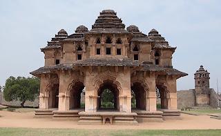 Lotus Mahal or Kamal Mahal, Vijayanagar Hampi