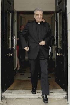 El nuncio en Irlanda, Giuseppe Leanza.- JULIEN BEHAL