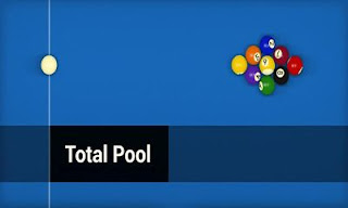 Screenshots of the Total Pool for Android tablet, phone.