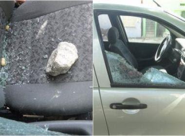 Eunápolis: Aluno é suspenso, quebra vidro de carro de professor e ameaça 'detonar' no retorno