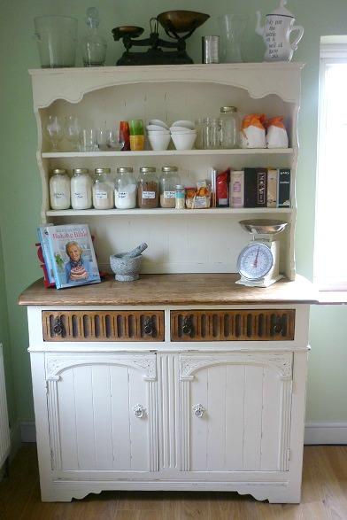 baking storage dresser