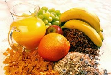 Fuentes de fibra alimentaria