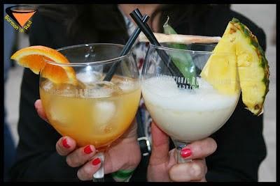 frutas y bebidas