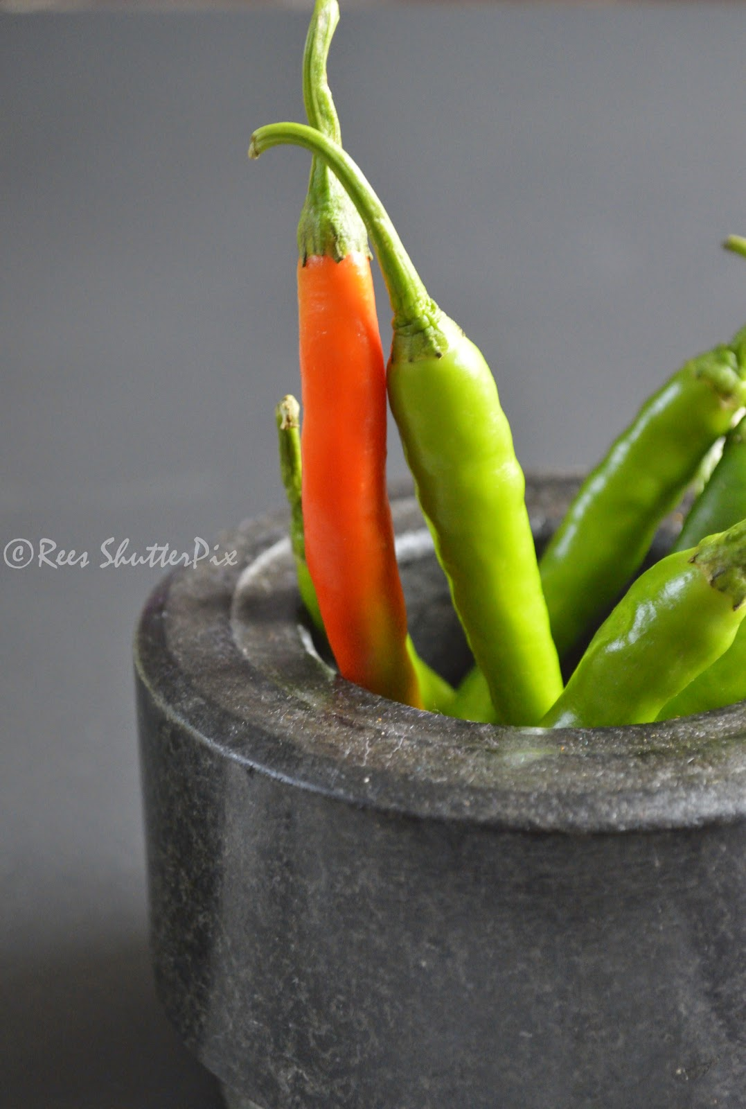 food photography chillies
