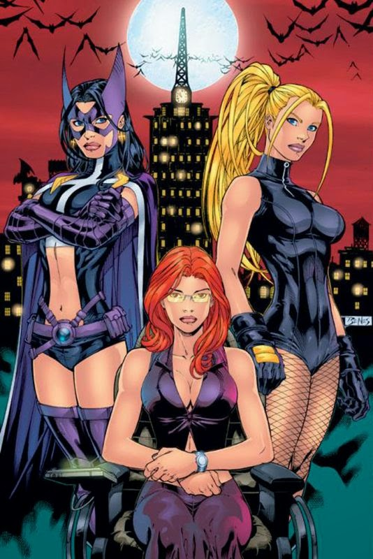 Oracle in the Birds of Prey by Ed Benes