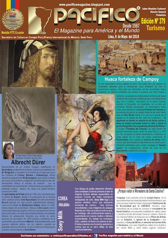 Revista Pacífico Nº 379 Turismo