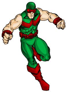 Dibujo del Hombre Maravilla-Marvel