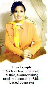 Terri Temple, church of Christ women authors, Las Vegas, beauty secrets, success