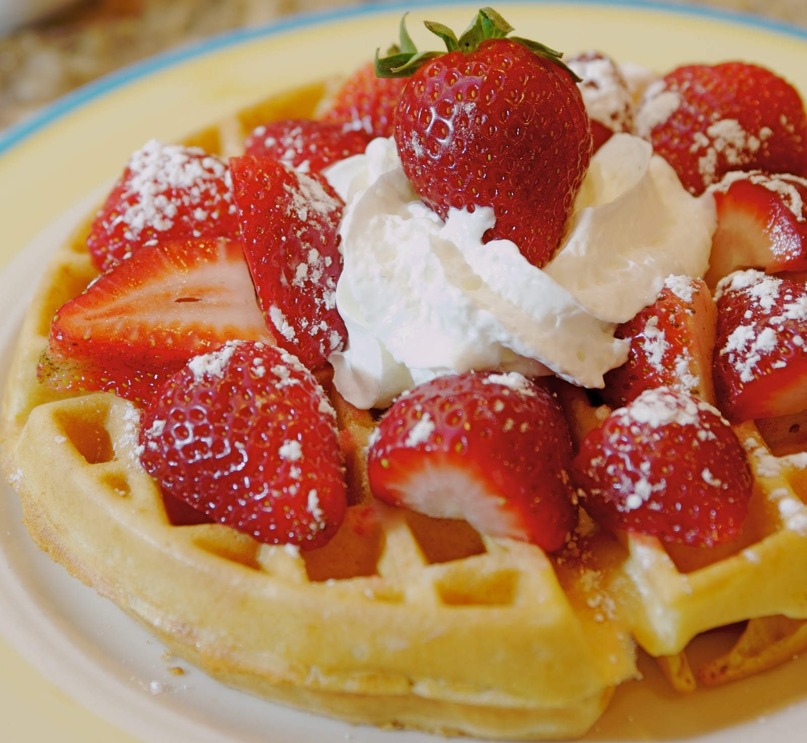 Molly's Recipes: Sour Cream Waffles