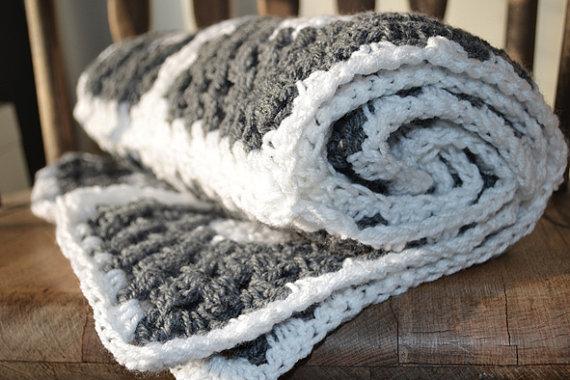 Tığ İşi Bebek Battaniyesi Örneği
