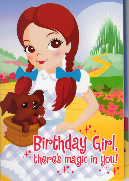 curiozity corner hallmark greeting cards, Birthday card