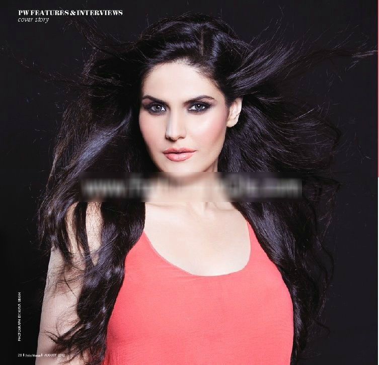 ,  Zareen Khan's Perfect Woman Magazine Scans – August 2012