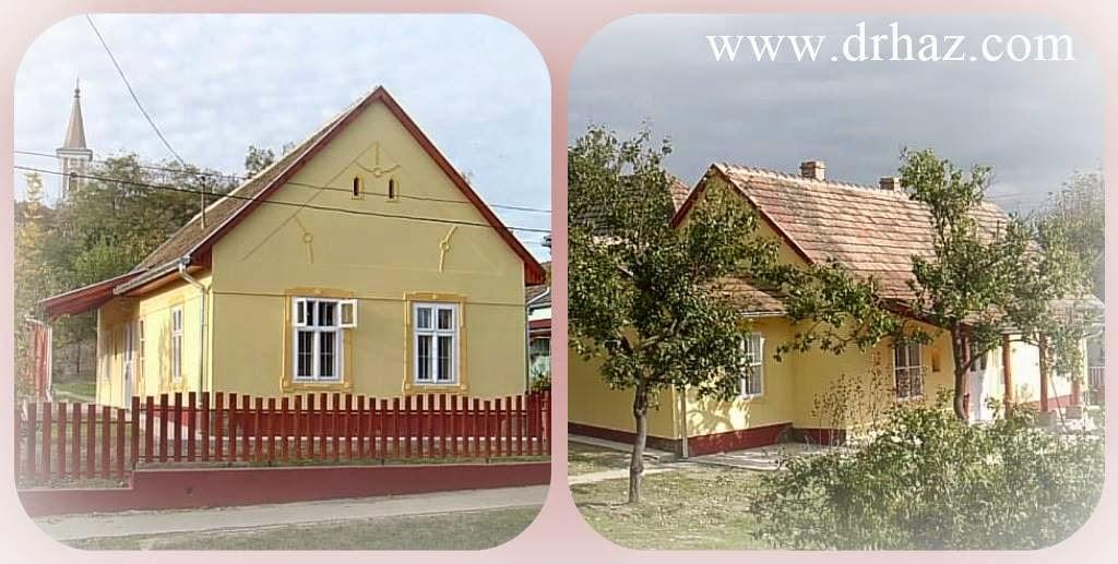 rusztikus régi ház felújítása - ilyen volt - ilyen lett
