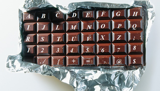 TECLADO,CHOCOLATE