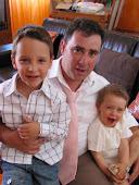 Eu e os meus filhos.