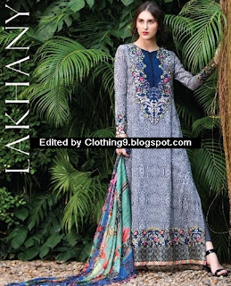 Lakhany Charlotte Digital Embroidered Lawn Dresses Limited Edition 2015