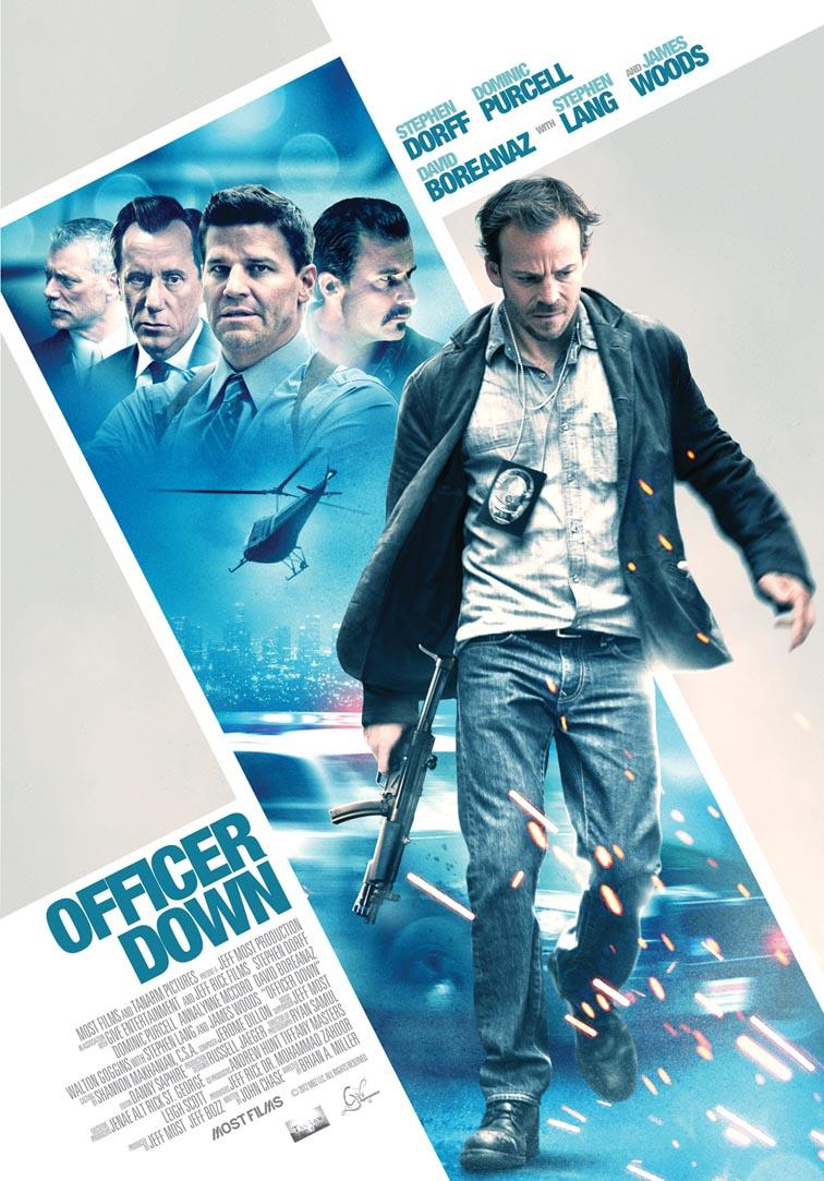 Officer Down HD 1080p Dual 2012