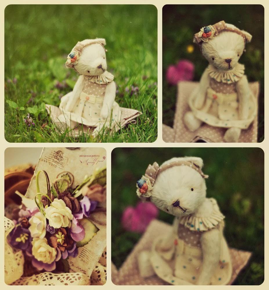 подарок на день рождения, мишка тедди девочка, мишка в одежде, мишка в платье,  вискоза для тедди