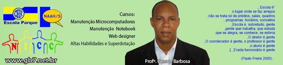 CECR – ESCOLA PARQUE - WEBDESINGN, MANUTENÇÃO EM NOTEBOOK E MICROCOMPUTADORES.