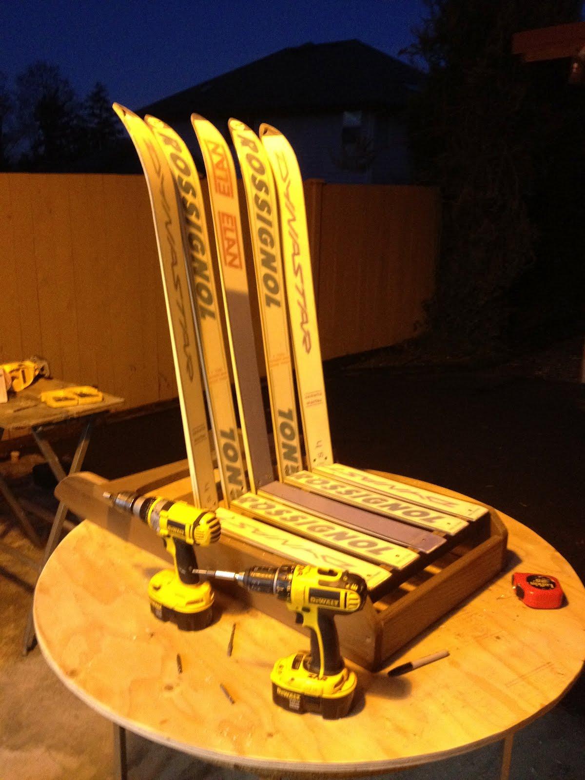 Scottyu0027s Ski Furniture