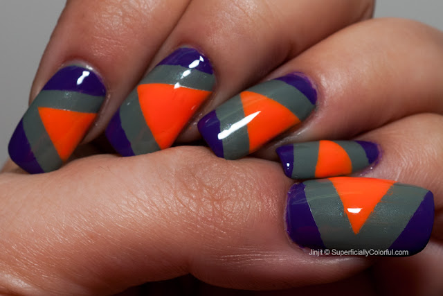 China Glaze illamasqua Tape