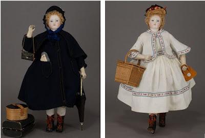 têtes et corps de poupées anciennes