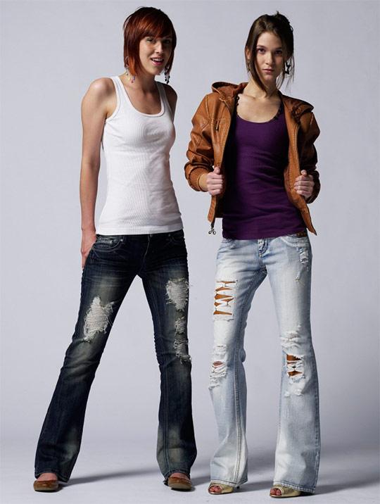 Рваные джинсы модно 3