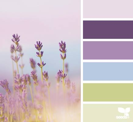 Living pretty august inspiration board challenge a - Lavender paint color schemes ...