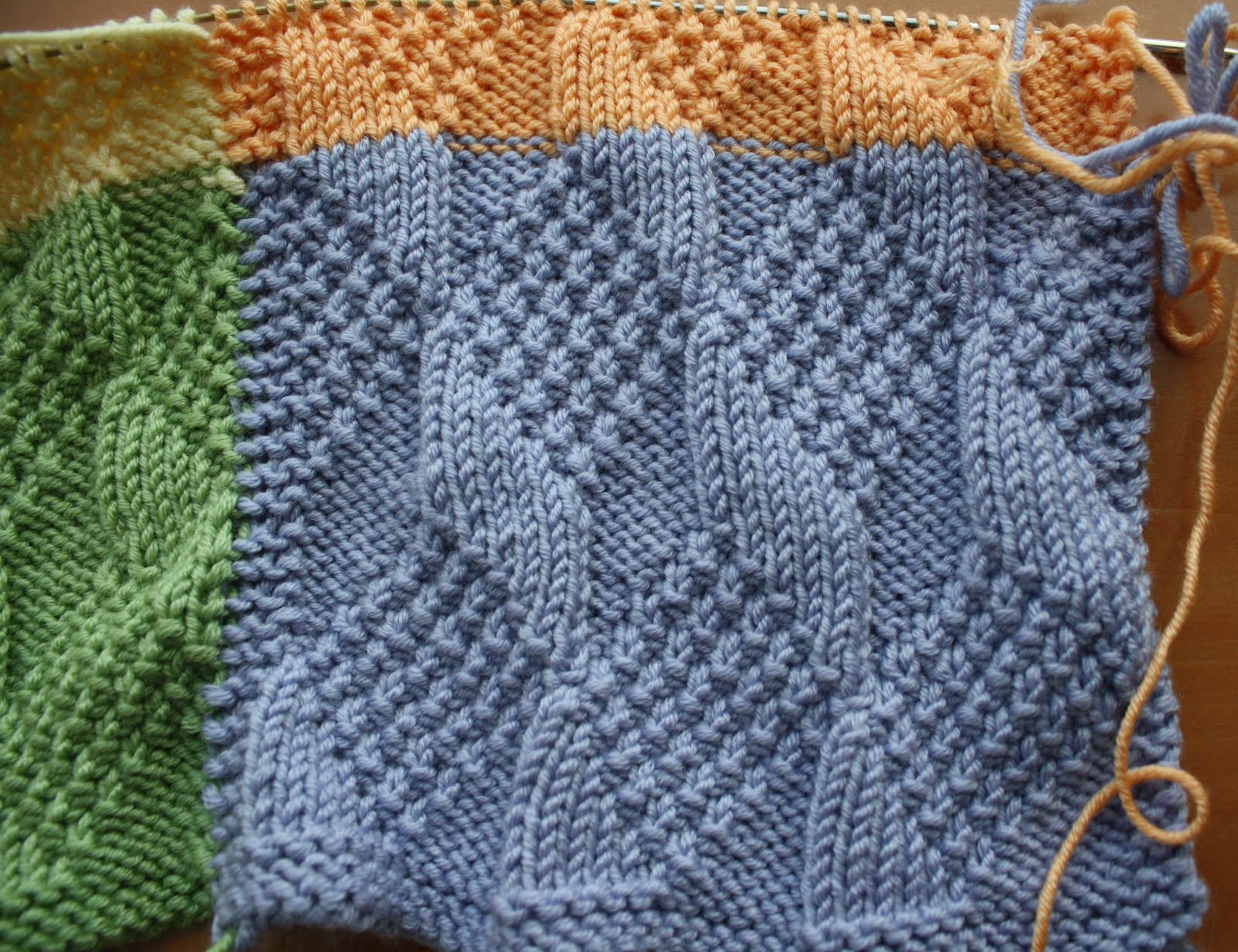 Knitted Baby Blanket Patterns For Free : QueerJoes Knitting Blog
