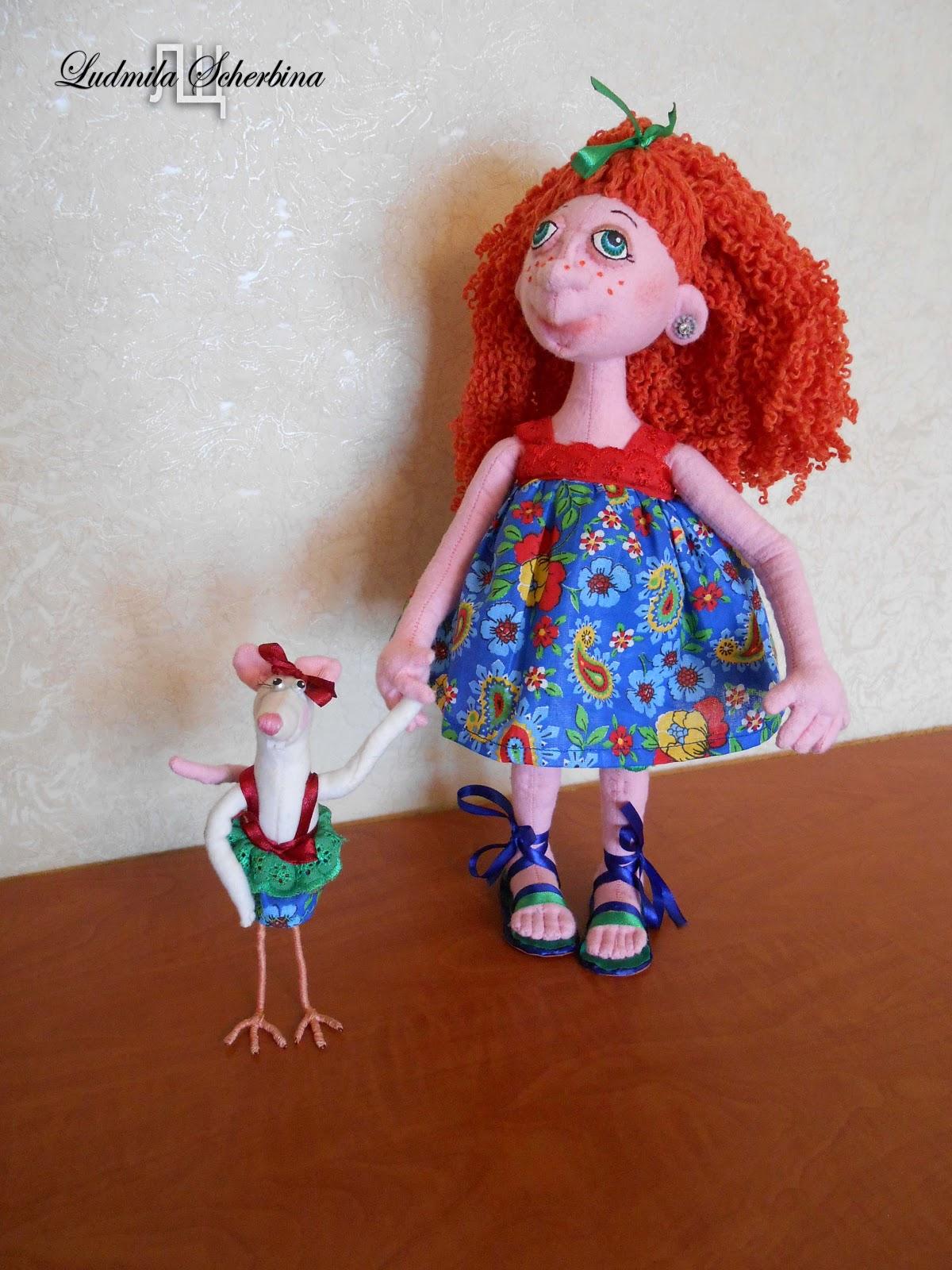 Куклы своими руками на проволочном каркасе