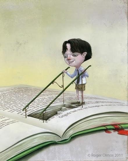 Livros, lugares secretos
