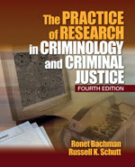 Book cover for Fundamentals of Research in Criminal Justice.