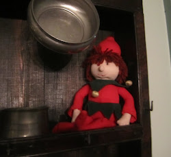 Jarvis House Elf on a Shelf