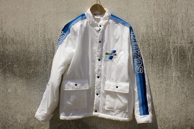 The vintage perception veste nylon suzuki original annees 80 - Veste annee 80 ...