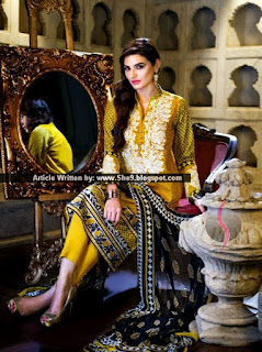 Fancy Embroidered Eid Lawn Catalog
