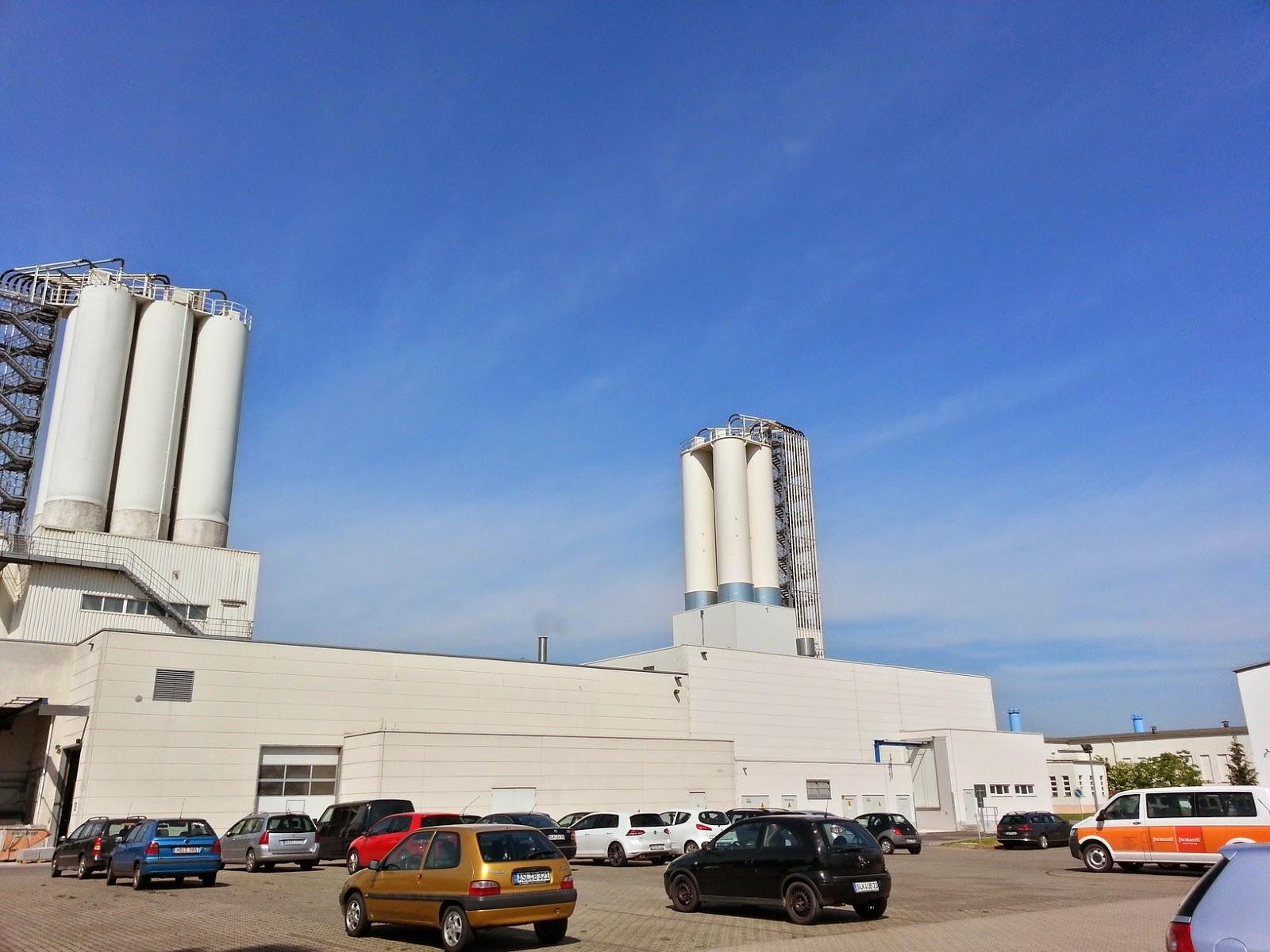 Fabryka płyt cementowo-wlóknowych Fermacell w Calbe, Niemcy