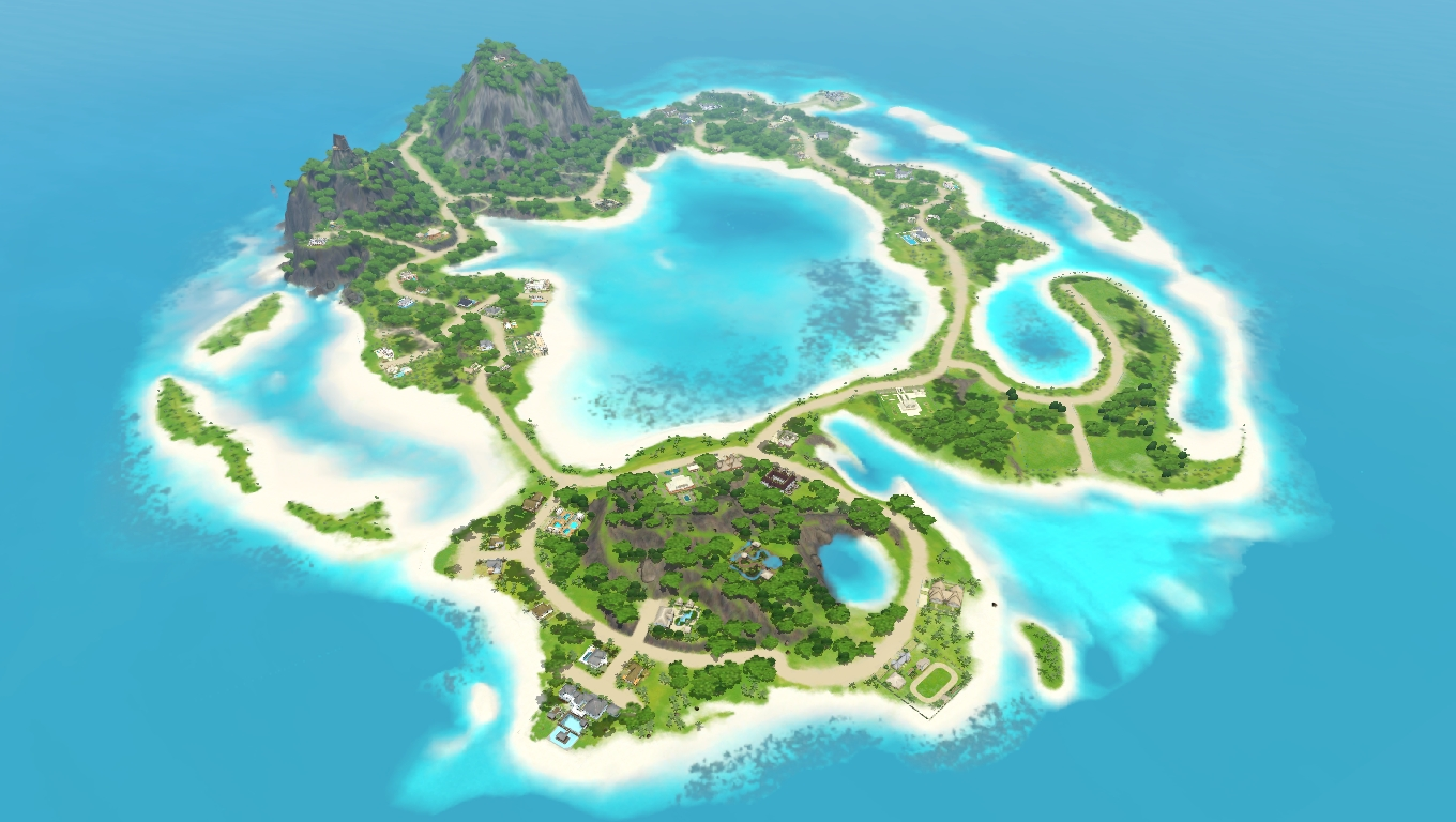 The Sims 3 Blog: small islands around the world