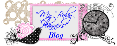 """My Baby"" Planners Blog"