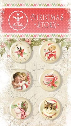 Набор для создания новогодних открыток