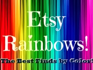Best Etsy Finds by Color