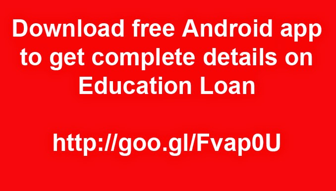 free download of android app on education loan guidelines