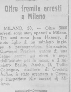 L'ECO DI  BERGAMO - 30 APRILE 1945