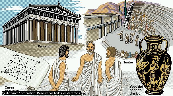 Grecia antigua cultural la cultura griega for Costumbres de grecia