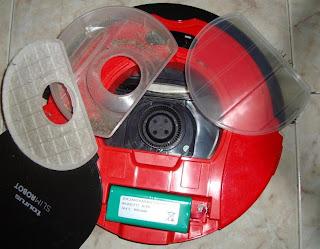 deposito residuos robot Taurus slim