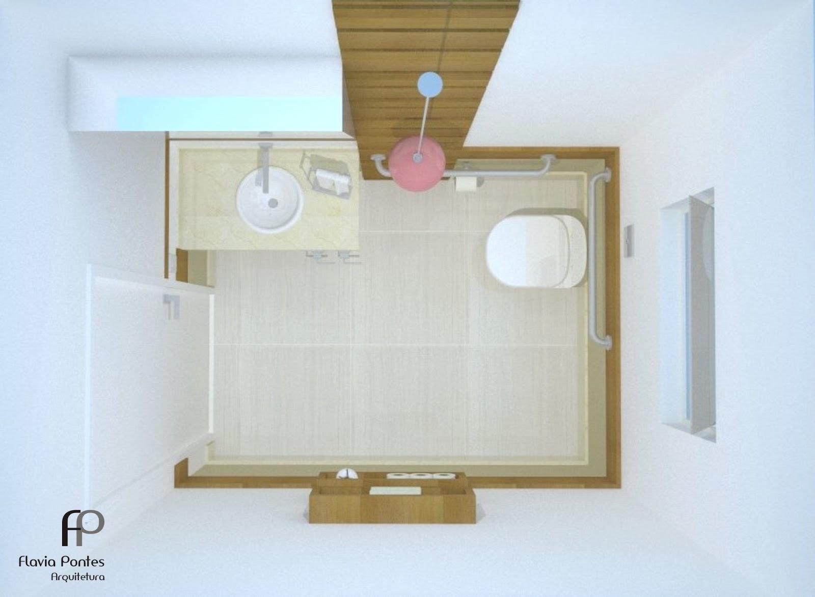 Flavia Pontes Arquitetura: Abril 2013 #887144 1600x1172 Banheiro Cadeirante Dimensões