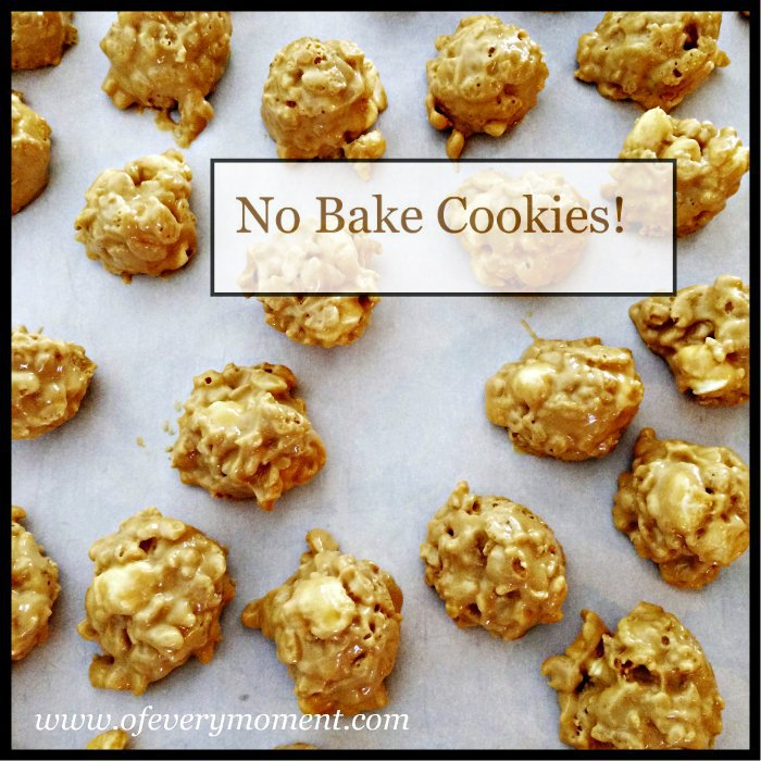 no-bake cookies, recipe, cookie recipe